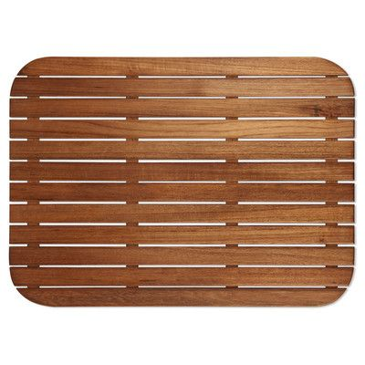 Exceptional Teakworks4u Teak Shower Mat With Rounded Corners U0026 Reviews | Wayfair