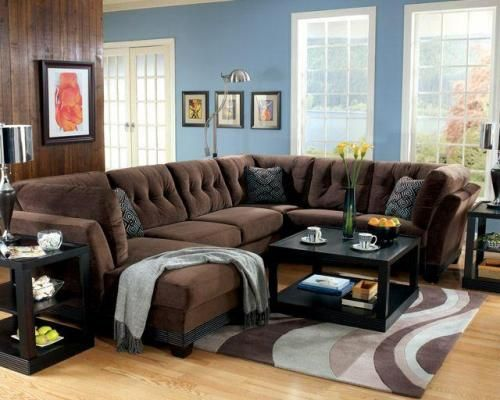 Best 25+ Brown Sectional Sofa Ideas On Pinterest | Brown Sectional, Brown  Sectional Decor And Brown Sofa Design