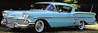 1950s Cars -Chevrolet 1955-59