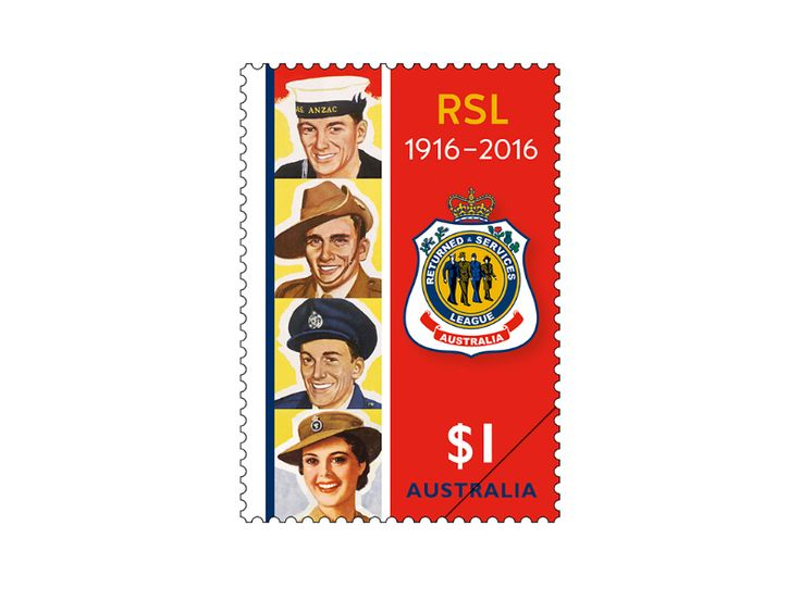 COLLECTORZPEDIA Centenary of the RSL - 1916-2016