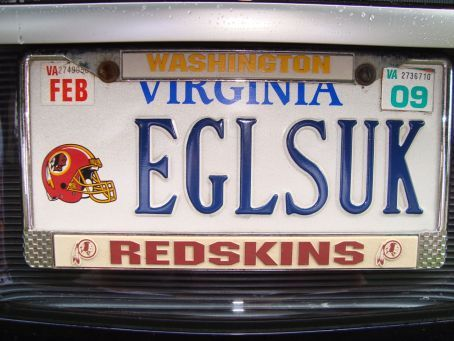 Haha, this is why Giants fans and Redskins fans get along.....