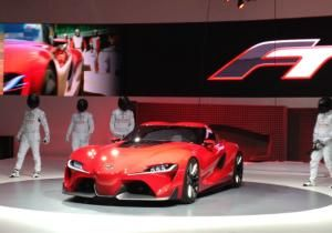 The Toyota FT-1 Concept signals that some fierce sports car competition is brewing.
