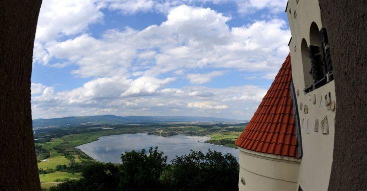 Mostecké jezero. Pohled z věže Hněvína. | na serveru Lidovky.cz | aktuální zprávy