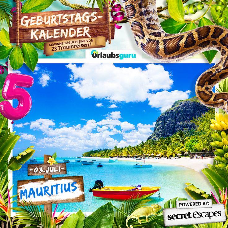 Gewinnt eine kostenlose Reise nach Mauritius! Berühmt als Ziel für die Flitterwochen (Honeymoon), ist die Insel Mauritius ein wahres Traumziel. Port Louis, Grand Baie, Île aux Cerfs, Chamarel, Unterwasser-Wasserfall, Tamarin Wasserfall, Nationalpark, Botanischer Garten - Brainstorming zu Mauritius in vollem Gange. Also macht mit und gewinnt einen gratis Urlaub auf Mauritius bei meinem Glücksspiel!