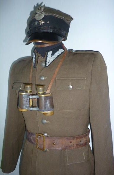 Polish uniform.