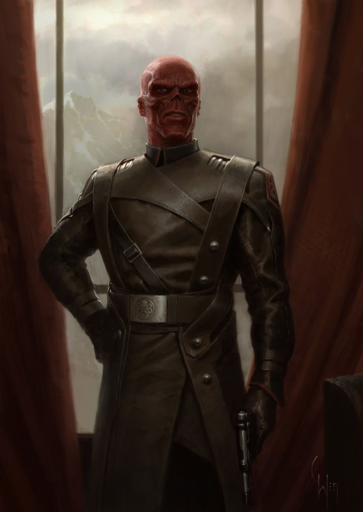 Red Skull By Charly Wen