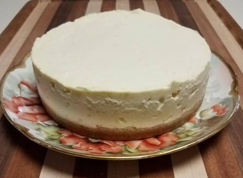 THM cheesecake in the instant Pot