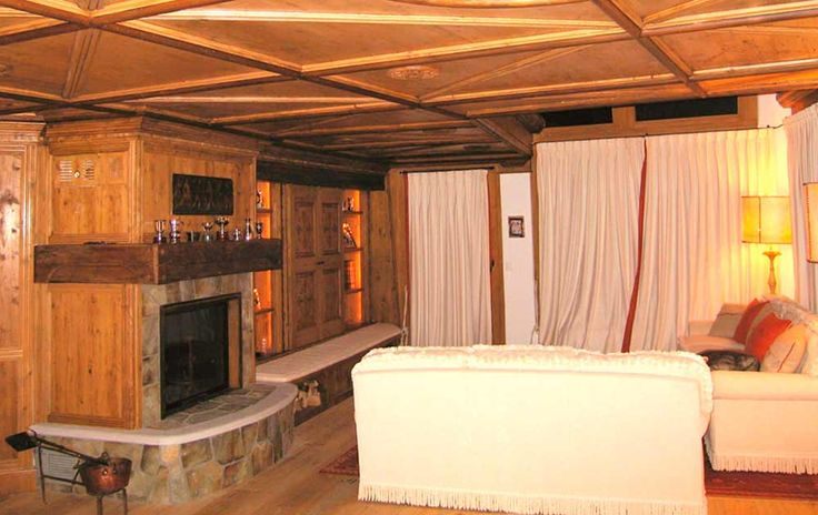 Rustic Chalet - St. Moritz - Elegance at high altitude - Dotti Interior Decoration