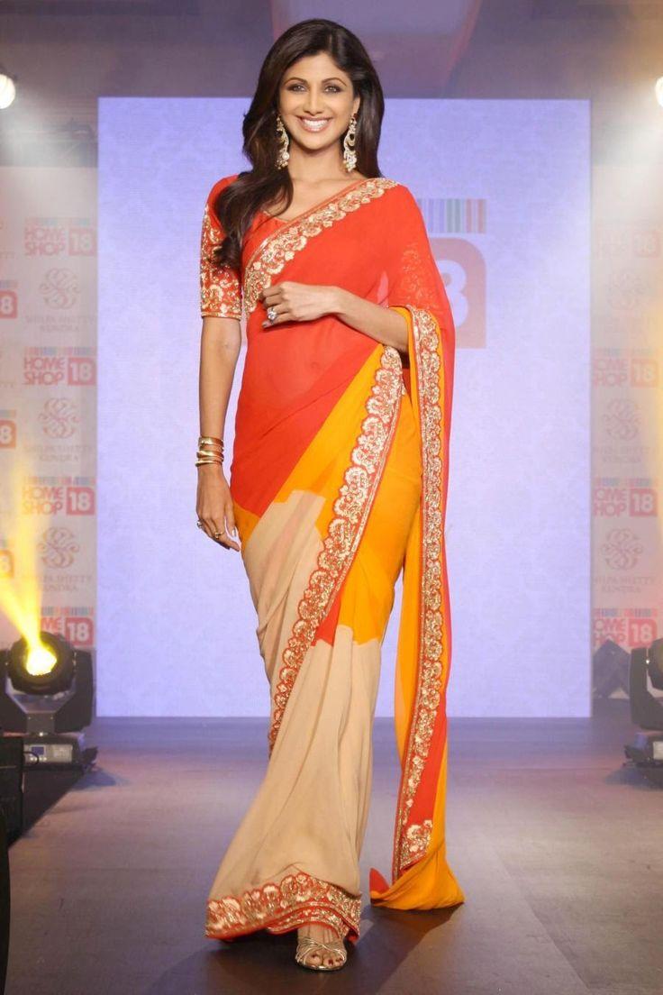 shilpa shetty homeshop18 saree collection bollywood