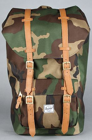NEED...The Little America Cordura Backpack in Camo by HERSCHEL SUPPLY at karmaloop.com