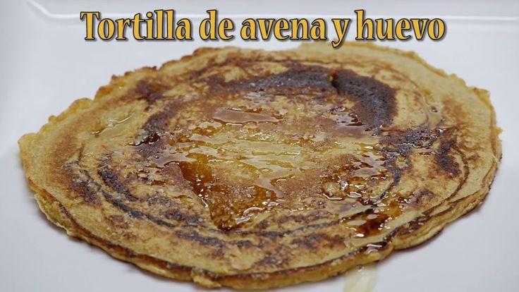 Como Preparar Tortilla de Avena y Huevo- CocinaTv por Juan Gonzalo Angel