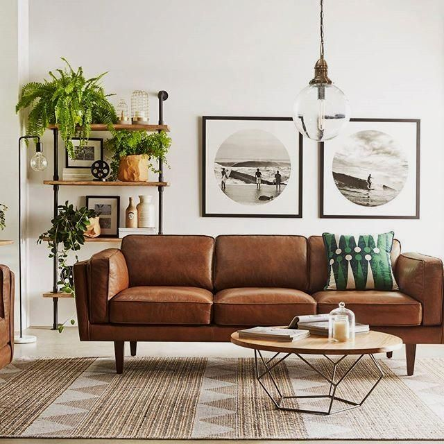 10 Beautiful Brown Leather Sofas Leather Couches Living Room Couches Living Room Brown Living Room #one #couch #living #room #ideas