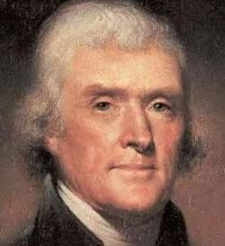 Thomas Jefferson - (1743–1826) diverged widely from the orthodox Christianity of his era. intensely interested in theology, religious studies, and morality. God was divine moral law. He opened up up-tight America on Christian ideals. My President!
