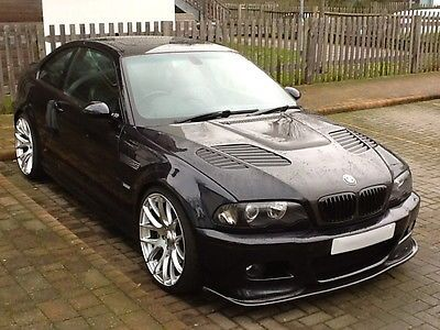 BMW E46 M3 COUPE 2004 WITH VERY LOW MILEAGE CARBON BLACK