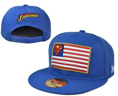 Superman Game Time Closer Stretch Fit Fitting Snapback @ niftywarehouse.com #NiftyWarehouse #Superman #DC #Comics #ComicBooks