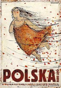 Polska, Babie lato, Plakat Ryszard Kaja