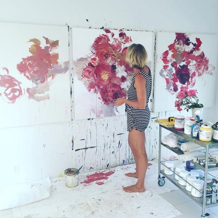 Les 688 meilleures images du tableau abstract art sur pinterest aquarelles comment peindre et - Tuto peinture abstraite contemporaine ...
