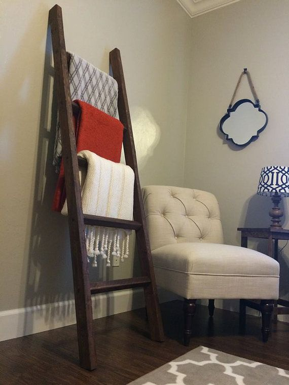 Hey, I found this really awesome Etsy listing at https://www.etsy.com/listing/215752370/wooden-blanket-ladder-rack