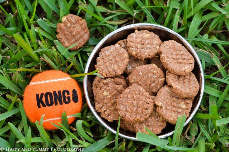 peanut butter dog cookies-0521