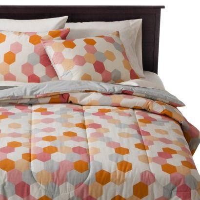 Room Essentials® Hexagon Watercolor Comforter Set