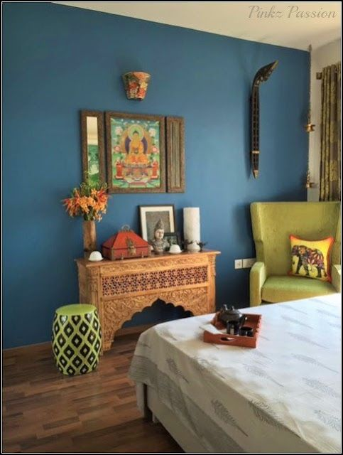 Brass Vignettes, DIY furniture makeovers, Global Décor, Home Tour, Indian Home, Indian Inspired Décor, Guest Bedroom