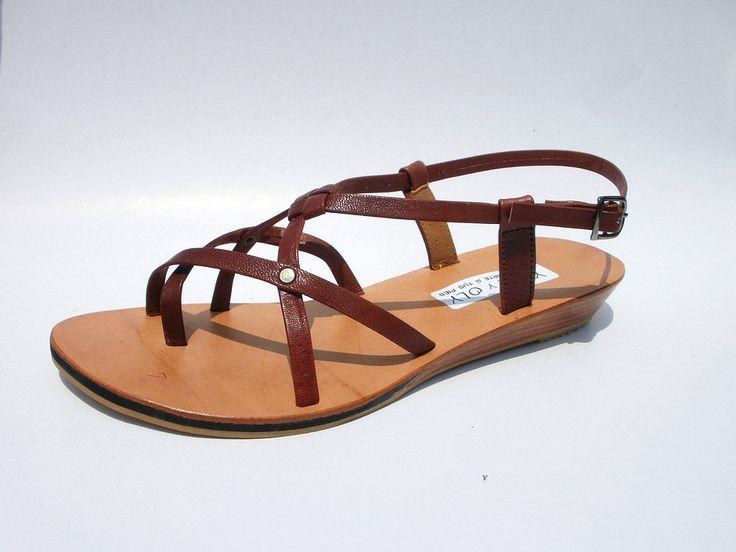 Sandalia de cuero de chivo model: W09  #sandals #madeinperu #leather #stely #moda #peru #cuero #sandalia #shoes #summer