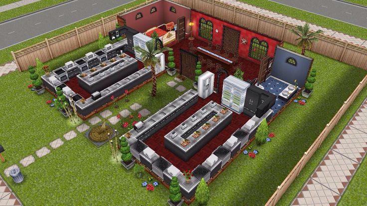 Sims Freeplay Culinary School Original House Design Cooking LP Life Points