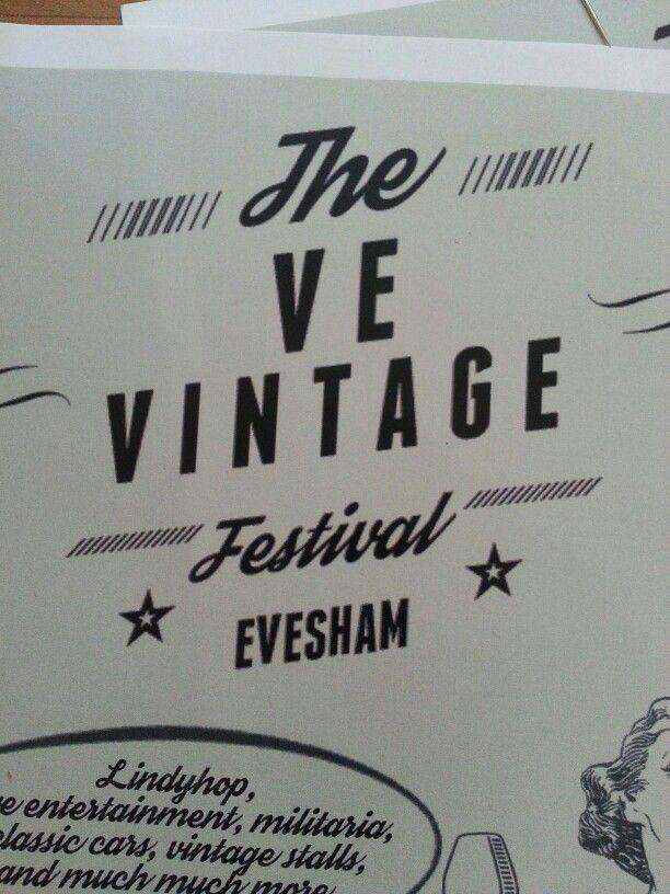 Annual Ve vintage festival Evesham