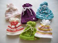 návod na jednoduchou čepičku - Mámy pro mámy - podpořme předčasně narozené Kulíšky a jejich rodiče: NÁVODY