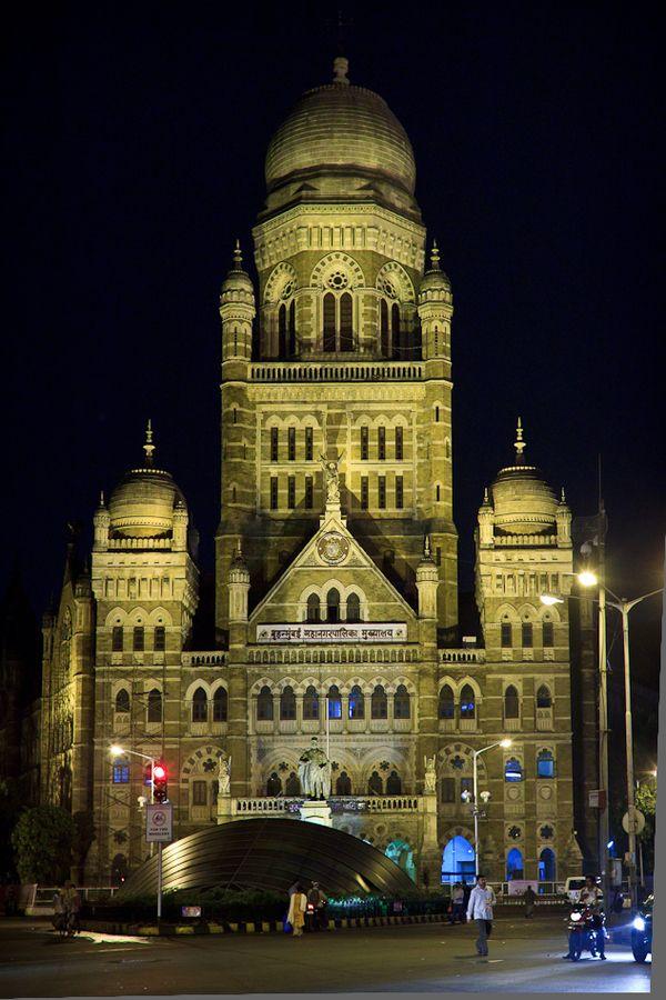 BMC office next to Chhatrapati Shivaji Terminus, Mumbai, Maharashtra, India