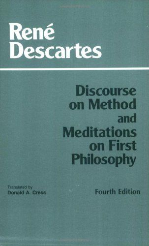 descartes meditations descartes discourse on method essay Meditations on first philosophy by rene descartes preface to the reader 1 i have already slightly touched upon the questions respecting the existence of god and the nature of the human soul, in the discourse on the method of rightly conducting the reason, and seeking truth in the sciences, published in french in the year 1637 not.