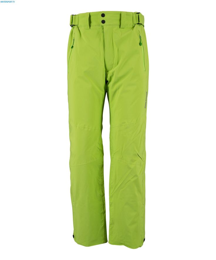 Goldwin Men Sweden Radical Pant - Citron
