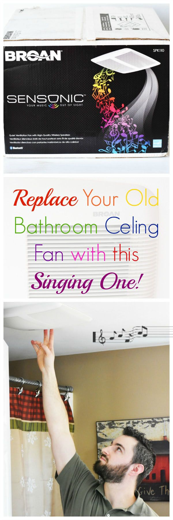 Luxury How to Replace a Bathroom Ventilation Fan with the Broan Sensonic Love Music but hate