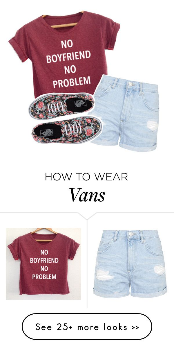 """""""go follow..."""" by your-best-friend on Polyvore featuring Topshop and Vans"""