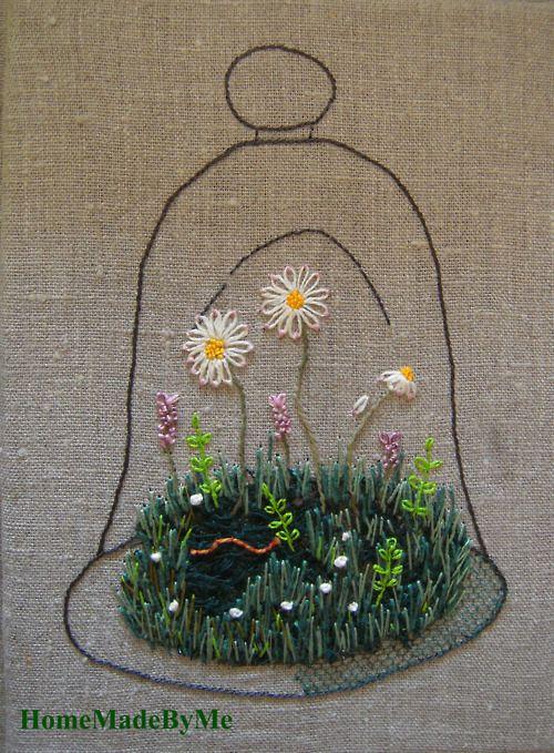 Cloche de jardin daprès Kazuko Aoki