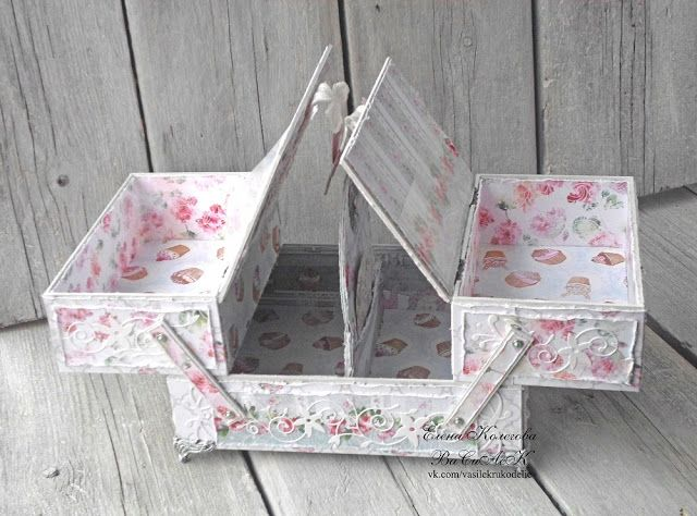 altered sewing box, must make!