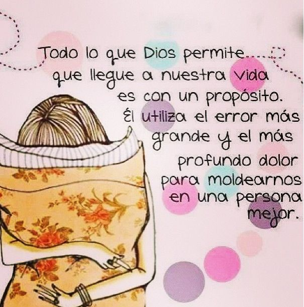 Loved this one...El plan de Dios es perfecto.
