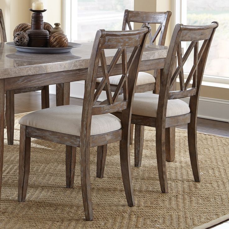 Steve Silver Franco Dining Chair - Set of 2 | from hayneedle.com