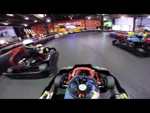 Super Fast Indoor Go Kart Racing - YouTube