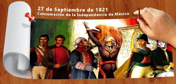 #SabíasQue en un día como hoy, se dio la consumación de la Independencia de México.
