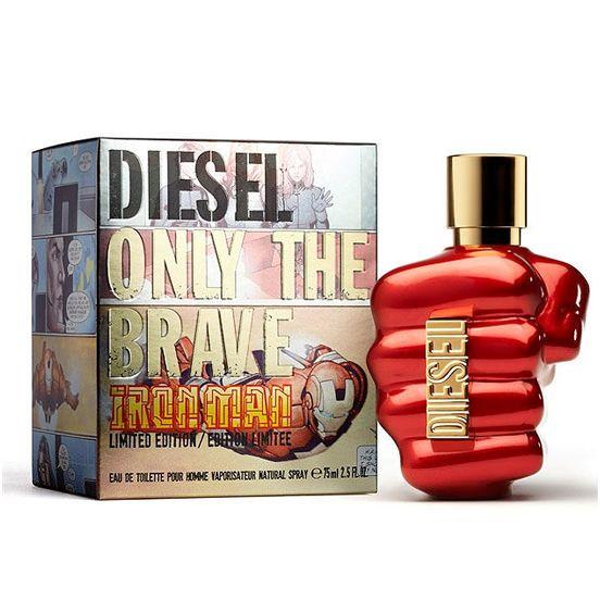 Only The Brave Iron Man от Diesel #DieselForMen  Оригинальный аромат Only The Brave Iron Man был выпущен в 2010 году итальянским парфюмерным дизайнером Diesel. На создание такого парфюма его вдохновил Железный человек из комиксов. Мужской пафюм привлекает внимание, радует своими ароматами и их п