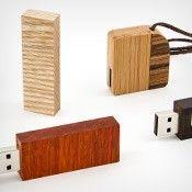 Ręcznie wykonane pendrive drewniane - unikalny design w ofercie Flashstore