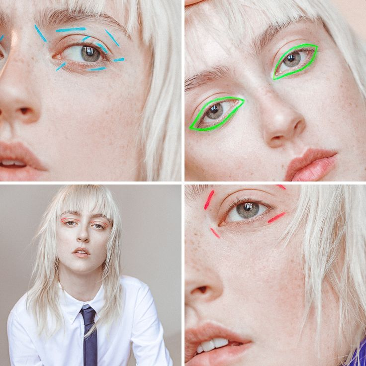 With tips from expert makeup artist Sil Bruinsma, here are all the best cream, liquid, and gel eyeliners you can use to create simple eyeliner looks in neon shades.