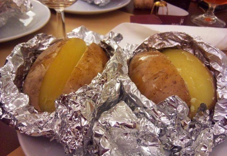 #patate al #cartoccio #vegane con #besciamella vegana alla #paprika