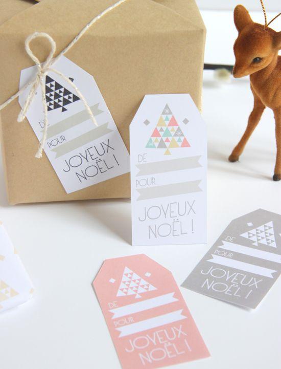 zü: Papier et étiquettes cadeaux DIY !