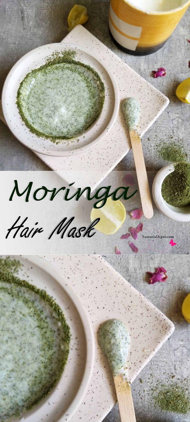 How to use moringa leaves for dandruff & scalp acne