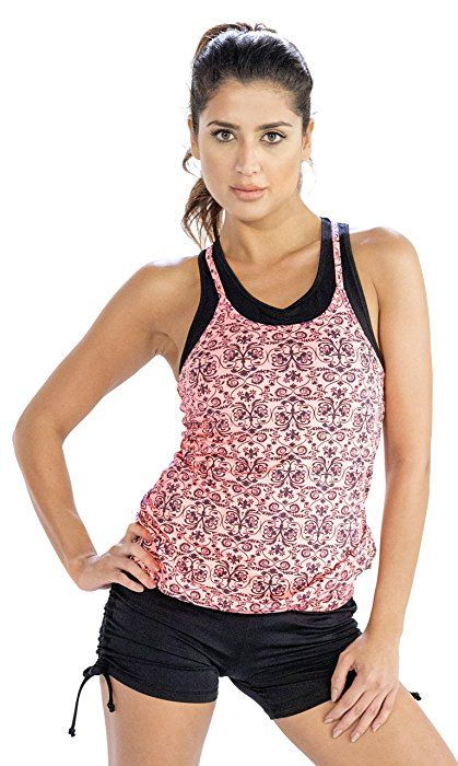 Shop High-Style Floral Print Womens #Running #Camisole at Amazon at Huge Discounts!!