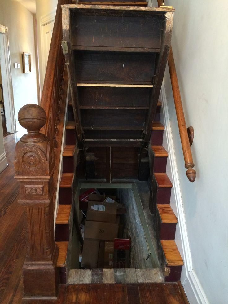 Staircase Hidden Storage