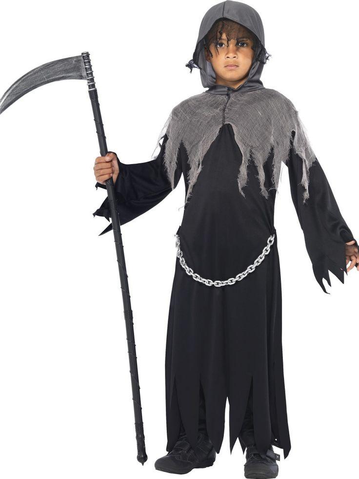 Boy's Grim Reaper Costume