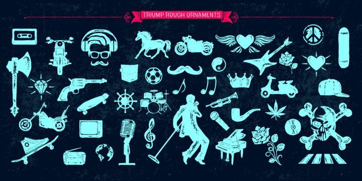 Triump Rough - Webfont & Desktop font « MyFonts